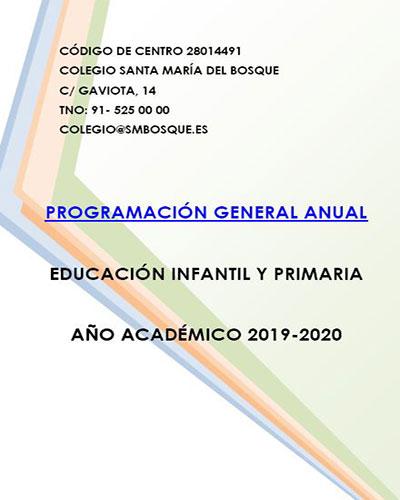 PGA INFANTIL Y PRIMARIA 2019 2020