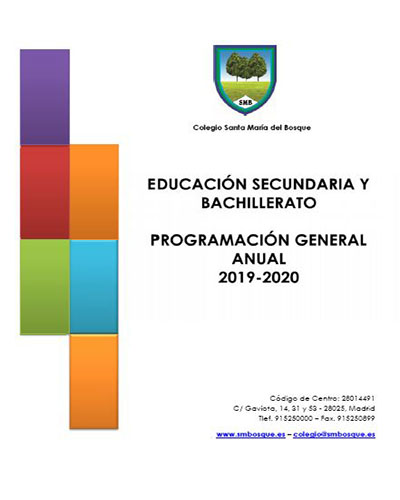 PGA ESO Y BACHILLERATO 2019-2020